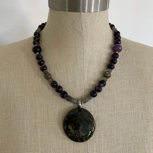 Jewelry - Handmade Natural Stone Necklace
